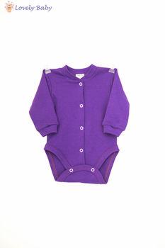 Боди фиолетовый