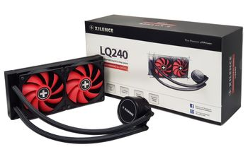 "XILENCE Liquid Cooler  ""LiQuRizer 240"" Performance A+ Socket LGA 2066/2011/1151/1150/1155/1156/1366 & TR4/AM4/FM2+/FM2/FM1/AM3+/AM3/AM2+/AM2, up to 200W, 2x TF120 fan:120?120?25mm, PWM fans:700-1800rpm, pump: 2100±10% RPM, 18.0-32.2 dBA, 70CFM, 3 pin"