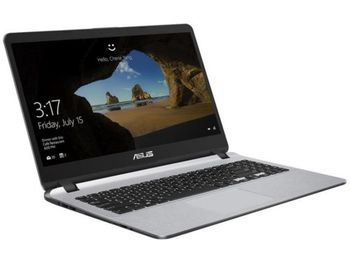 Laptop Asus X507MA Grey + (Geanta & Wireless Mouse)