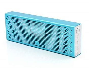 "Xiaomi ""Mi Bluetooth Speaker"", Portable Bluetooth Speaker, Blue, 6W (3Wx2) RMS, BT4.0, microSD, AUX, Microphone, Rechargeable Battery: 1500mAh, Battery Life: 8 hours, Support A2DP/AVRCP/HSP/HEP, Passive bass radiator, Full aluminium body"