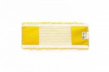 Bucle - Моп плоский микрофибра желтый 40х15 см, карманы