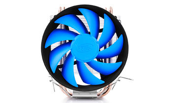 "DEEPCOOL Cooler ""GAMMAXX 200T"", Socket 775/1150/1151/1155 & FM2/FM1/AM3+, up to 100W, 120х120х25mm, 900~1600rpm, 17.8~26.1 dBA, 54.25CFM, 4 pin, PWM, Hydro Bearing, 2 heatpipes direct contact"