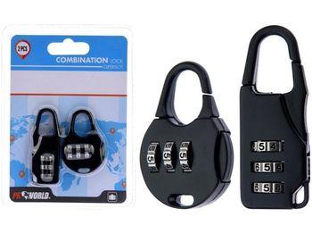 Набор замков кодовых 2шт, 55X20mm и 43X35mm