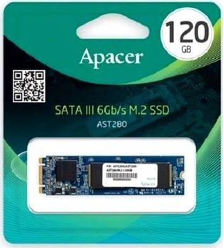"M.2 SATA SSD  120GB Apacer AST280 ""AP120GAST280"""