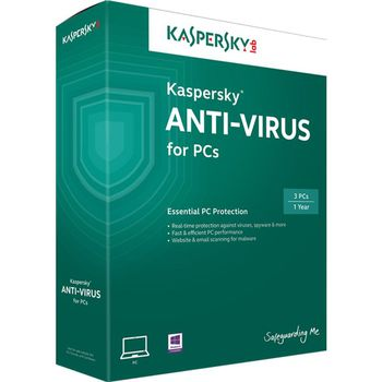 купить Kaspersky Anti-Virus - 1 device, 12 months, box в Кишинёве