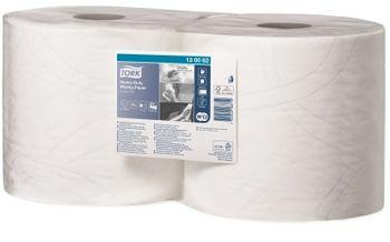Tork протирочная бумага повышенной прочности в рулоне, 2сл., 170м, 34x23.5, 500/2 листов, Белый, Advanced