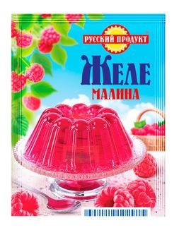 Желе быстрого приготовления со вкусом Малины 50г