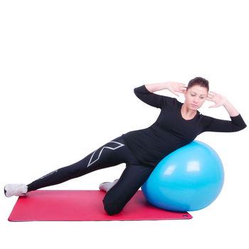 Мяч гимнастический 75 см (макс. 250 кг) Dittmann Professional 1,7 kg blue (3741)