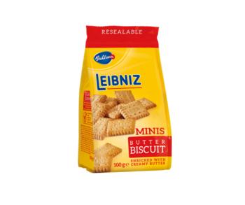 cumpără Biscuiţi Leibniz Minis Butter, 100 gr în Chișinău
