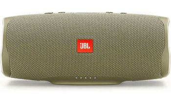 JBL Charge 4 Sand / Bluetooth Portable Speaker, 30W (2x15W) RMS, BT Type 4.2, Frequency response: 60Hz-20kHz, IPX7, Speakerphone, 7800mAh power bank USB 5V / 2A, JBL Connect+,  JBL Bass Radiator, Power Supply: 5V / 2.3A, Battery life (up to) 20 hr