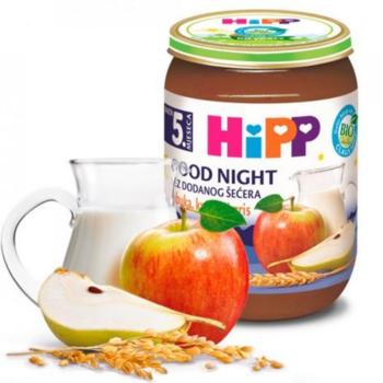 cumpără Hipp piure Good Night Griș cu lapte, mere și pere 4+ luni, 190 g în Chișinău