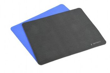 Gembird Mouse pad MP-S-MX, SBR rubber, Colors: Black, Grey or Blue