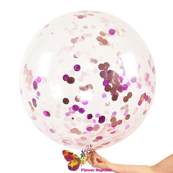 купить Прозрачные воздушные шары с конфетти в Кишинёве