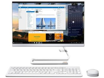 "купить Lenovo AIO IdeaCentre A340-22IGM White (21.5"" FHD IPS Pentium J5040 2.0-3.2GHz, 4GB, 256GB, No OS) в Кишинёве"