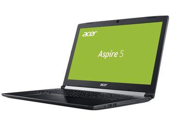 """купить ACER Aspire A517-51 Obsidian Black (NX.GSXEU.011) 17.3"""" FullHD (Intel® Quad Core™ i5-8250U 1.60-3.40GHz (Kaby Lake R), 12Gb DDR4 RAM, 1.0TB HDD, GeForce® MX150 2Gb DDR5, w/o DVD, WiFi-AC/BT, 4cell, 720P HD Webcam, RUS, Linux, 3.0kg) в Кишинёве"""