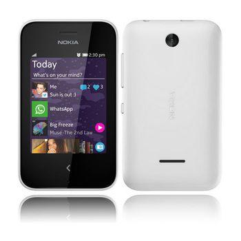 Nokia Asha 230 White 2 SIM (DUAL)