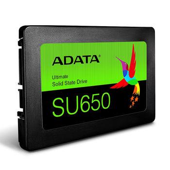 """240GB SSD 2.5"""" ADATA Ultimate SU650 (ASU650SS-240GT-R), 7mm, 3D NAND, Read 520MB/s, Write 450MB/s, SATA III 6.0 Gbps (solid state drive intern SSD/внутрений высокоскоростной накопитель SSD)"""