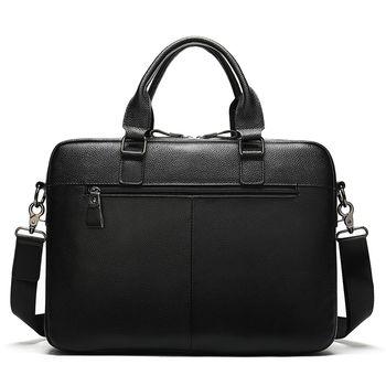купить Кожаный портфель для бизнеса , мужские портфели из натуральной кожи, сумка для ноутбука, 14, в Кишинёве