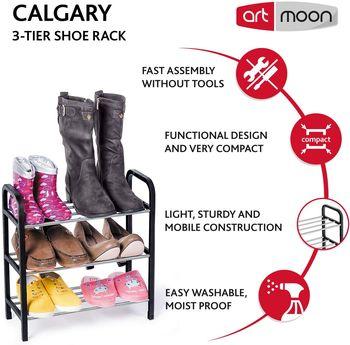 купить art moon CALGARY 3-х ярусная полка для обуви 699270 в Кишинёве