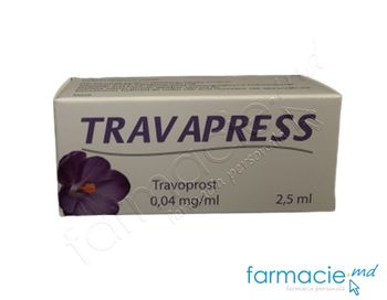 купить Travapress pic.oft.sol.0,04 mg/ml 2,5 ml N1 в Кишинёве