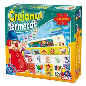 купить D-Toys Интерактивный пазл Creionul fermecatţă в Кишинёве