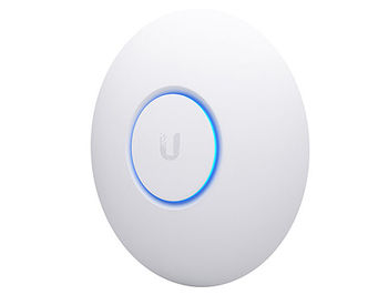 Ubiquiti UniFi AP nanoHD, 4x4 MU-MIMO 802.11ac Wave 2 Access Point Indoor, Four-Stream 802.11ac Wave 2 Technology, Simultaneous Dual-Band, Supports 200+ Concurrent Users, 802.3af PoE Compatibility, 802.11 a/b/g/n/ac/ac-wave2