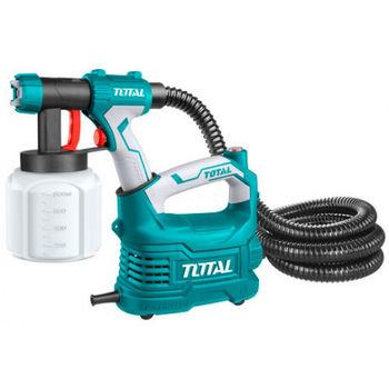 Краскопульт 500W, 0.1- 0.2bar Total TT5006