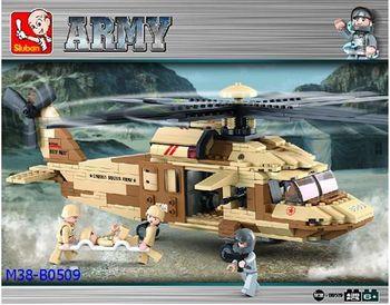 Sluban Конструктор вертолёт (430 деталей)