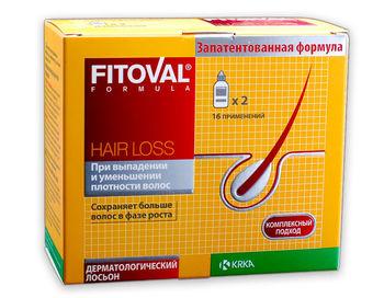 купить Fitoval lotiune 40mlx2 (contra caderii parului) HAIR LOSS в Кишинёве