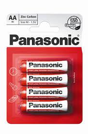 купить 2830 Baterie Panasonic Carbon-Zinc R6REL/4BPR AA 1.5 V в Кишинёве