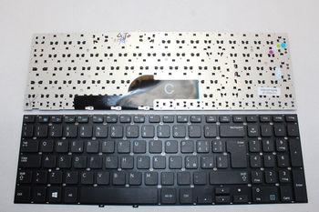 "Keyboard Samsung NP300E5 NP300V5 NP305E5 NP305V5 w/o frame ""ENTER""-big ENG. Black"