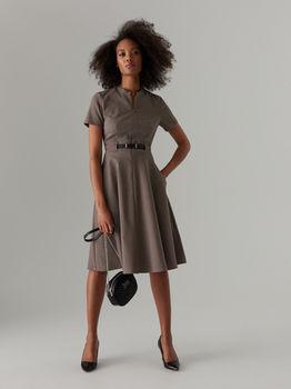 Платье MOHITO Коричневый/черный wt670-84p