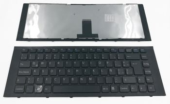 Keyboard Sony VPCEG w/frame ENG. Black