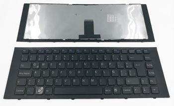 Keyboard Sony VPCEG w/frame ENG. Black