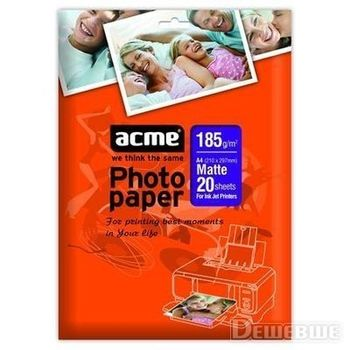 ACME Photo Paper A4 220g/m2 Matte Double Sided (50 pack)