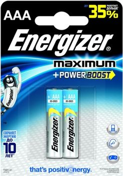 Energizer Maximum+Power AAA FSB2 (blister)