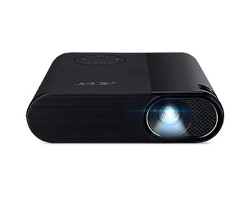 ACER C200 LED Projector (MR.JQC11.001) DLP, WVGA, 854x480 up to 1600x1200, Contrast 2000:1, 200Lm, HDMI, USB-A, Black, 2,7 kg