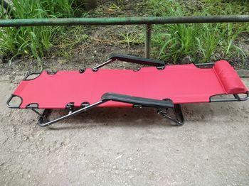 Раскладной Стул - Шезлонг 173см