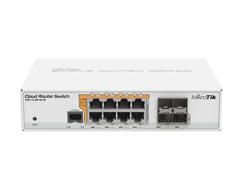 Mikrotik POE Cloud Router Switch CRS112-8P-4S-IN