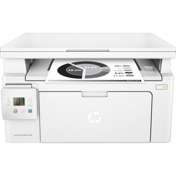 HP LaserJet Pro MFP M130a Print/Copy/Scan, up to 22ppm, 128MB, 2-line LCD, 600dpi, up to 10000 pages/monthly, HP ePrint, Hi-Speed USB 2.0, CF217A (~1600 pages 5%), White