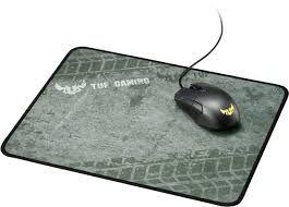 Коврик для игровой мыши Asus TUF GAMING P3, 280 x 350 x 2 мм / 132 г, тканевый на резиновой основе, серый