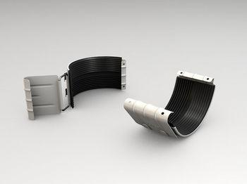 купить Хомут желоба (125 mm) RAL-9003 в Кишинёве