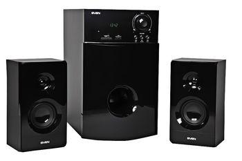 """купить Speakers   SVEN  """"MS-2000"""" SD-card, USB, FM, Black, 40w / 18w + 2x11w / 2.1 в Кишинёве"""