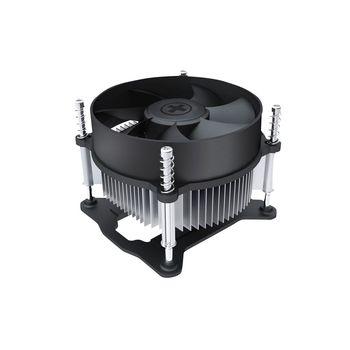 "Xilence Cooler XPCPU.I140  ""I140"", Socket 1155/1156 up to 65W, 92x92x25mm, 2200rpm, <25dBA, 40.9CFM, 3pins, Screw&Back Plate inst., Aluminium Heatsink, Bulk (pcs/box)"