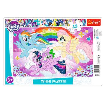 """Пазлы """"15 Frame"""" - """"Pony play"""", код 41655"""