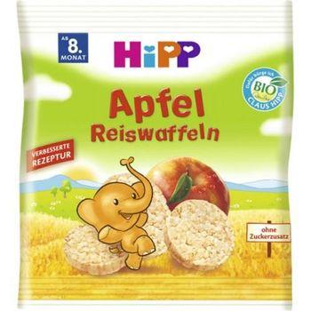купить Hipp рисовые хлебцы с яблоком, 8+мес. 35г в Кишинёве