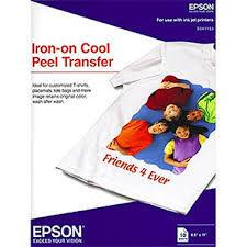 купить A4 10p Epson Iron-on Peel Transfer Paper в Кишинёве