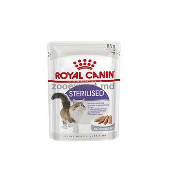 cumpără Royal Canin STERILISED (pateu ) 85 gr în Chișinău