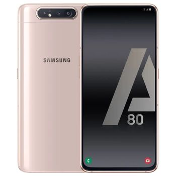купить Samsung Galaxy A80 2019 8/128Gb Duos (SM-A805), Gold в Кишинёве