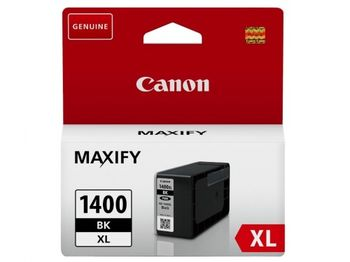 Ink Cartridge Canon PGI-1400XL Bk, black 49ml for MAXIFY MB2040/MB2340/MB2140/MB2740